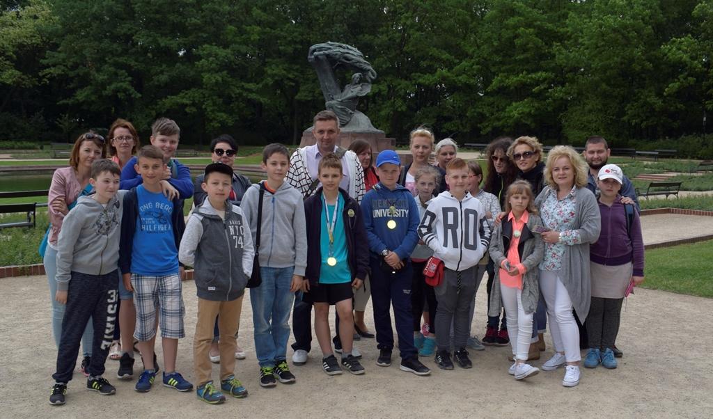 Klasowa wycieczka do Warszawy